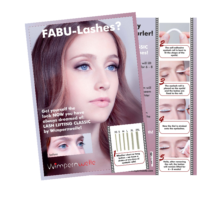 Customer Flyer Lash Lifting CLASSIC